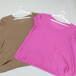 2 A New Day short sleeve tees - size XXL